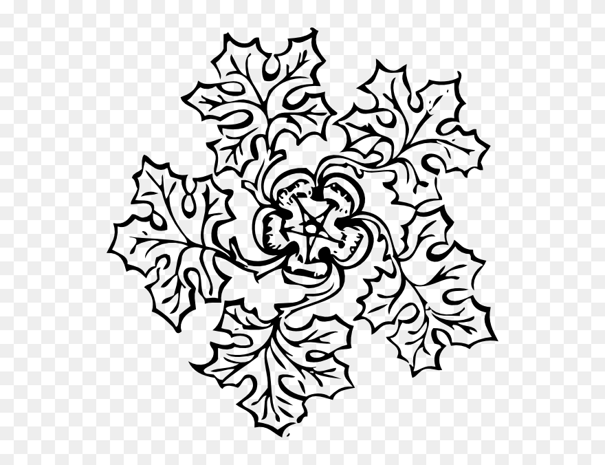 Pot Leaf Coloring Pages Design Drawings Of Flowers Clipart 5425482 Pinclipart