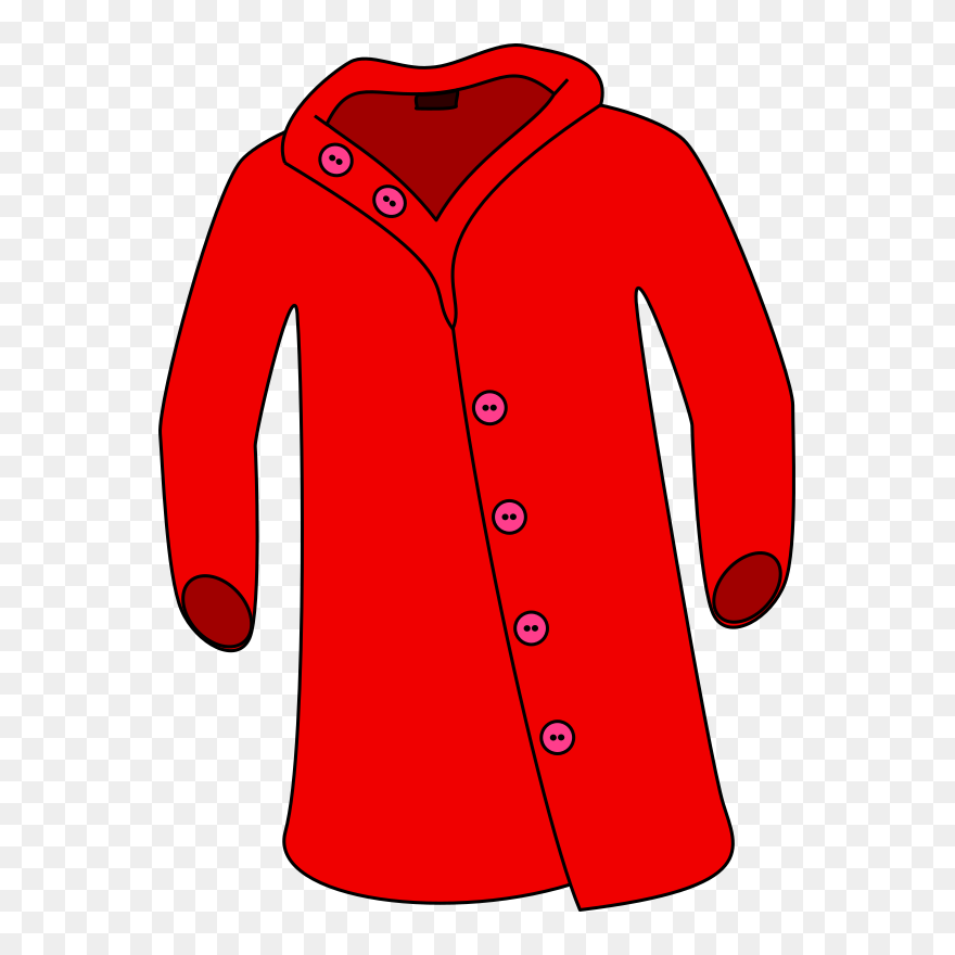 Winter Coat Cliparts Transparent Jacket Clipart Png Download 5428324 Pinclipart