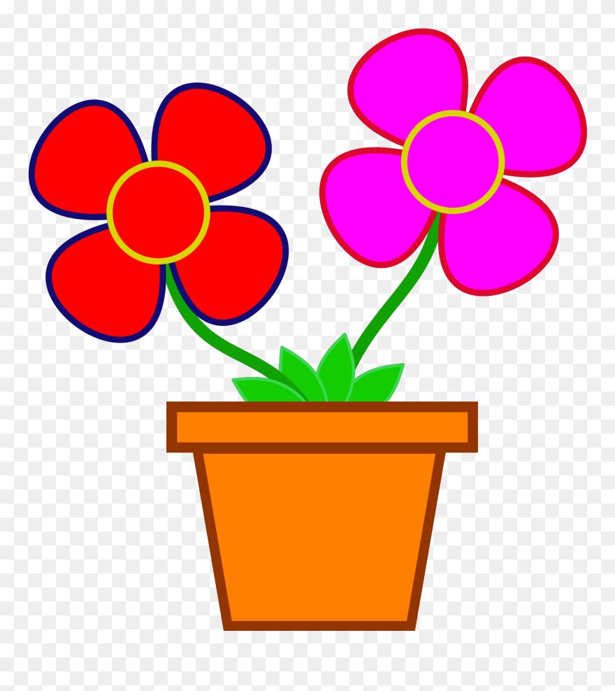 Flower Vase Drawing Cartoon Clipart 5432071 Pinclipart