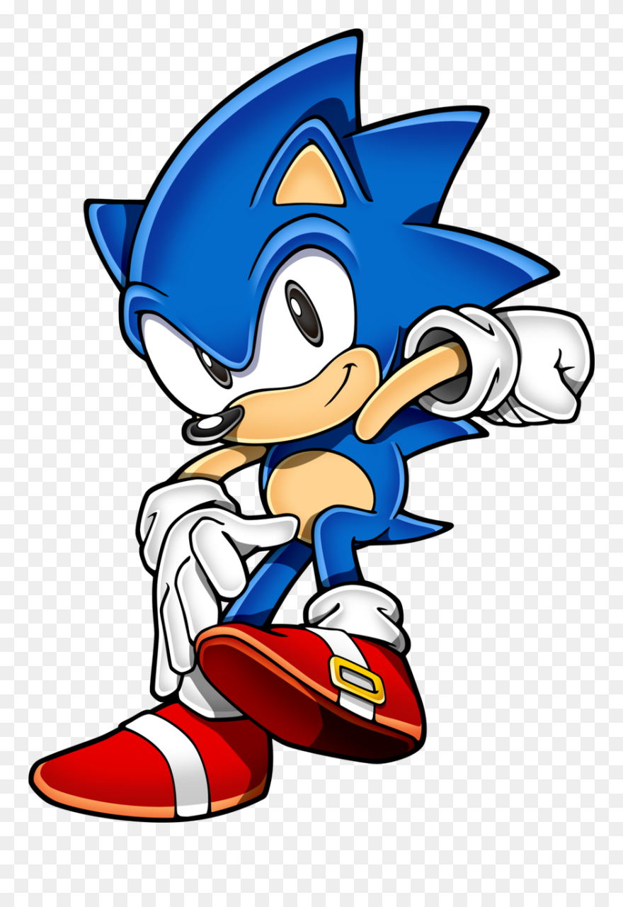 Sonic The Hedgehog Clipart Classic Sonic Classic Sonic 2d Art