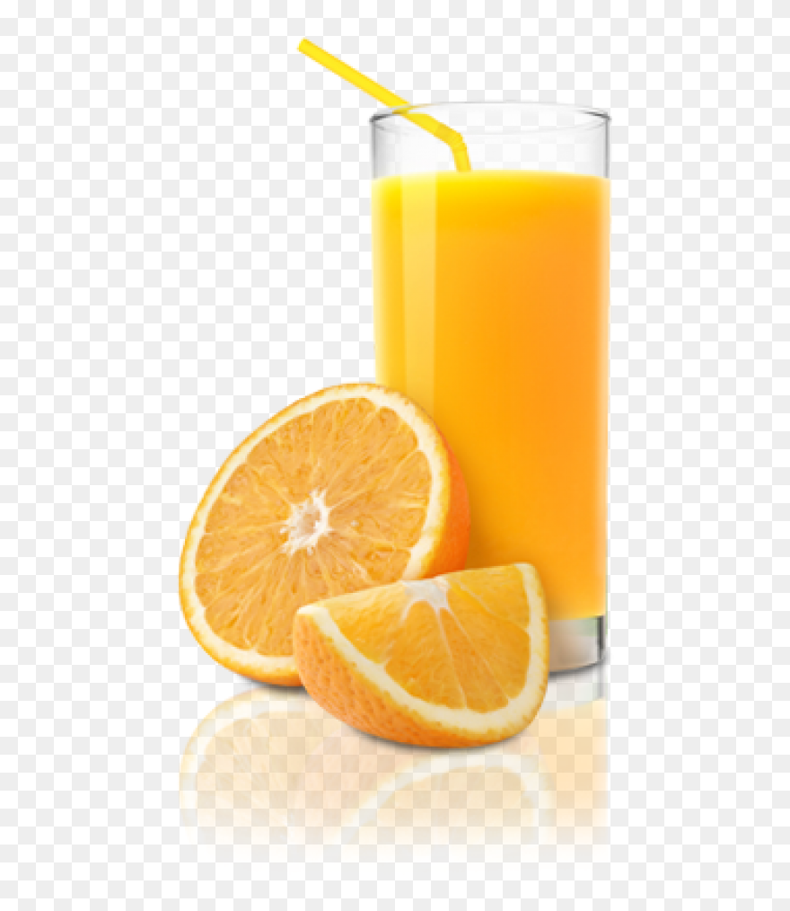 Orange Juice Jug White Background