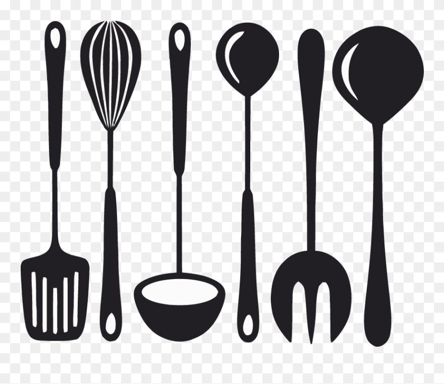 Kitchen Tools Vector Kitchen Tools Clipart Png Transparent Png 5448106 Pinclipart