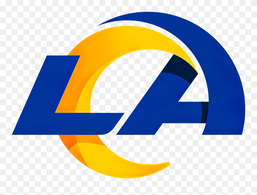 La Rams New Logo 2020 Clipart (#5448687) - PinClipart