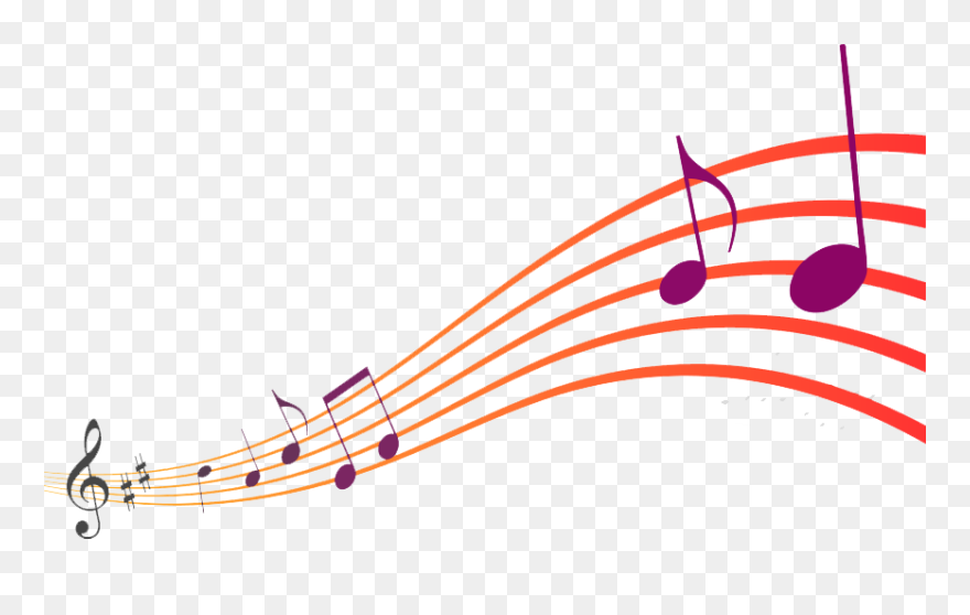 Colorful musicnotes on white background - Download Free Vectors, Clipart  Graphics & Vector Art