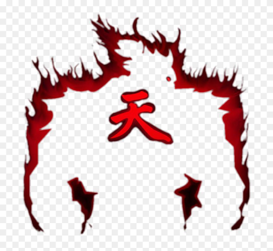 Akuma Png Png Download Ten Kanji Transparent Akuma Symbol Png Clipart 5469911 Pinclipart