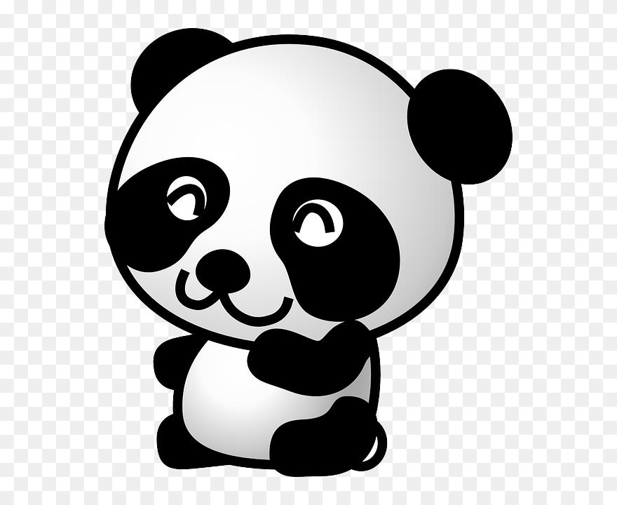 51 Gambar Hewan Animasi Png Gratis Panda Clipart Transparent Png 5474503 Pinclipart