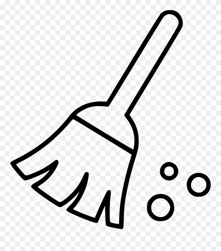 broom cleaning sweep cleaning office broom clipart black and white png download 5480766 pinclipart broom cleaning sweep cleaning office