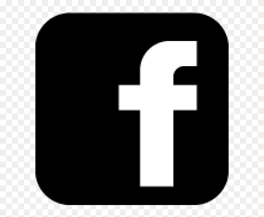 Black background icon facebook 4 Ways
