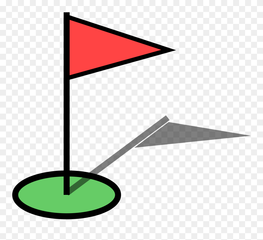 Golf Clipart Flagstick Png Download 5494198 Pinclipart