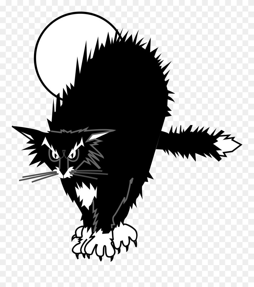 Clipart Cat Cowboy Chat Noir Dessin Png Download 5494815 Pinclipart