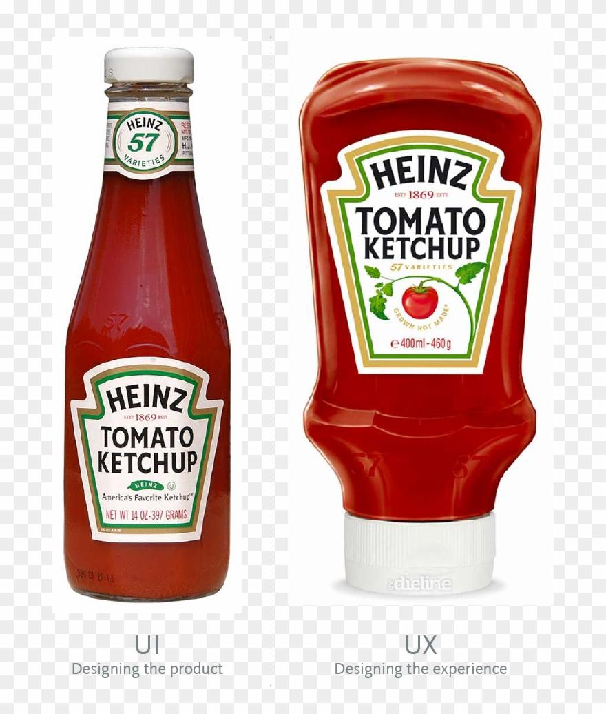 Ketchup Bottle Transparent Png Heinz Ketchup Packaging
