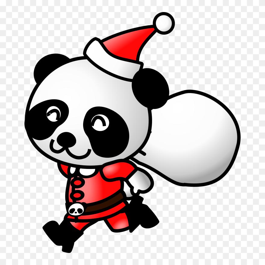 Gambar Terkait Bear Full Panda Santa Clipart 552684 Pinclipart