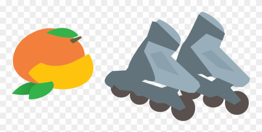 Mangos And Rollerblades Animated Roller Blades Clipart 553411