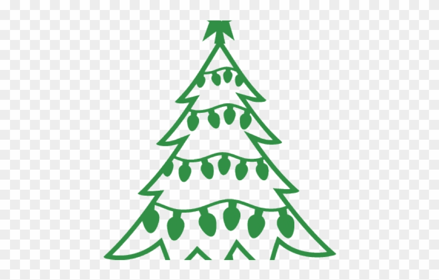 Pine Tree Clipart File Simple Christmas Tree Svg Png Download 555924 Pinclipart
