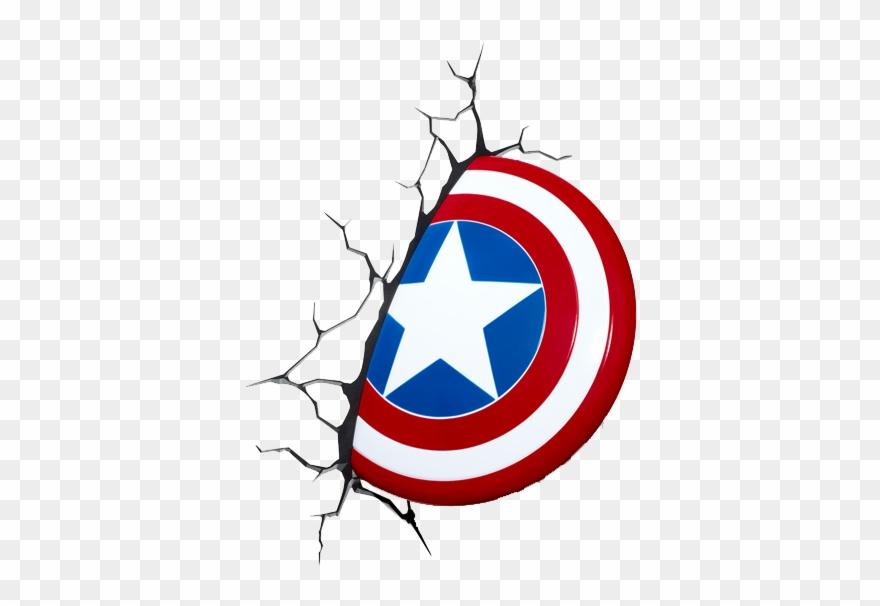 captain america marvel 3d shield wall light clipart 559836 pinclipart captain america marvel 3d shield wall