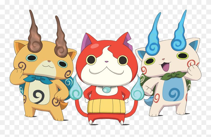Transparent Smiling Bulldog Clipart Yo Kai Watch Nekomata Png
