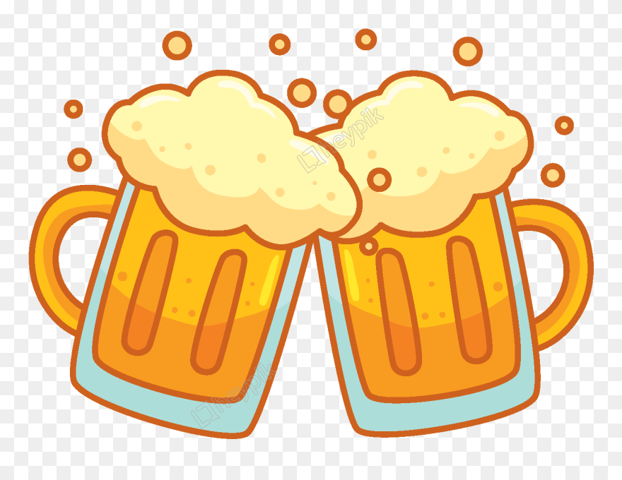 Beer Cartoon Free Png Clipart 5501281 Pinclipart
