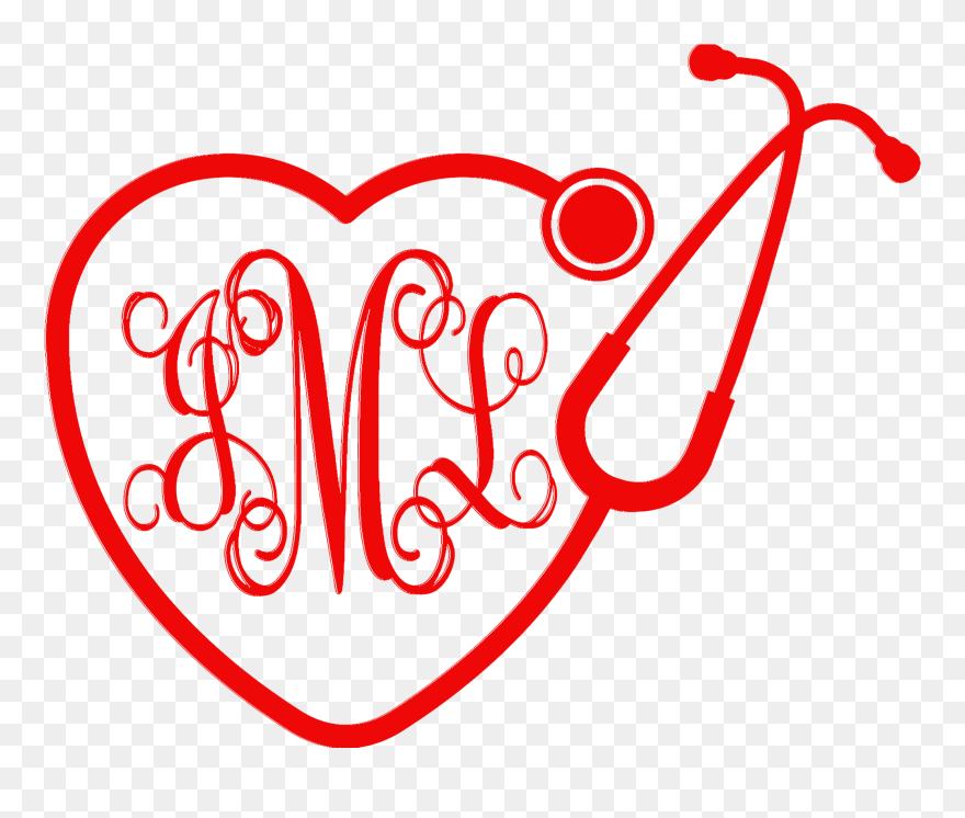 Stethoscope Heart Png Heart Stethoscope Svg Free Clipart 5502562 Pinclipart