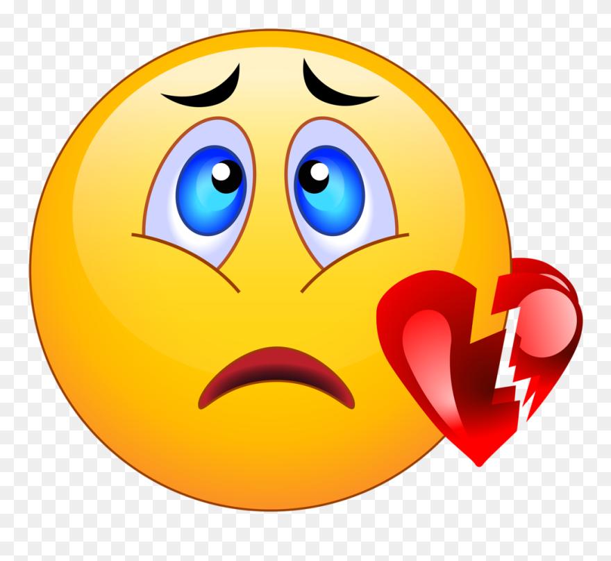 Transparent Crying Emoji Clipart - Sad Emoji Smiley Faces , Free  Transparent Clipart - ClipartKey