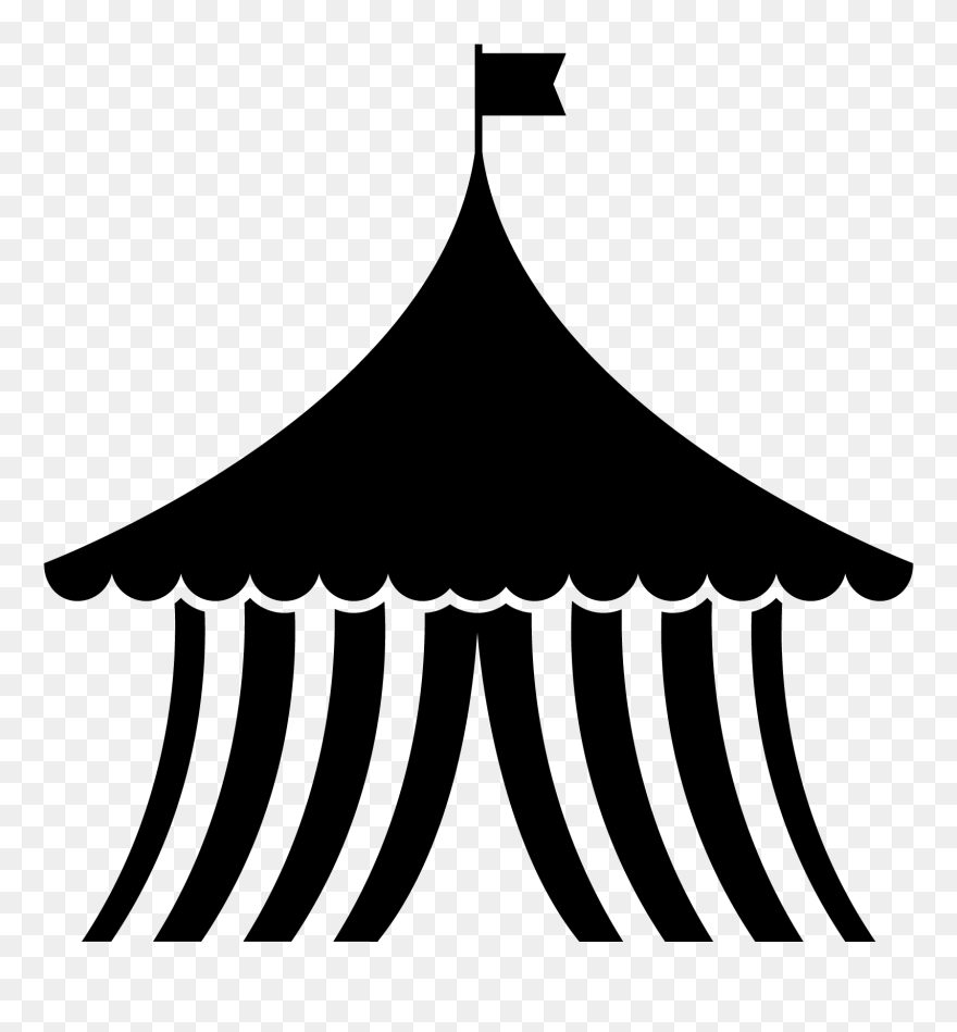 Download black tent clipart png photo   TOPpng