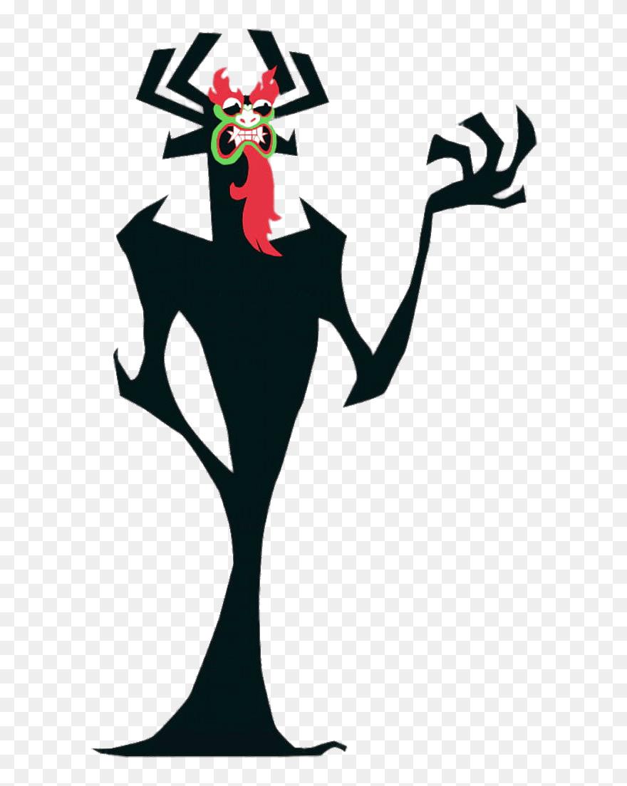 Demon Aku Cartoon Network Samurai Jack Aku Clipart 5514359 Pinclipart