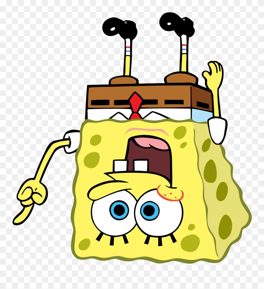 High Quality Ironic Spongebob Blank Meme Template Clipart ...