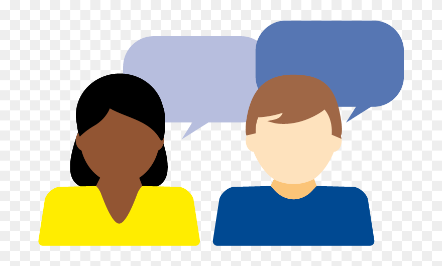 Two People Talking Icon Two People Talking Png Clipart 5526664 Pinclipart Find the perfect two people talking stock illustrations from getty images. two people talking png clipart