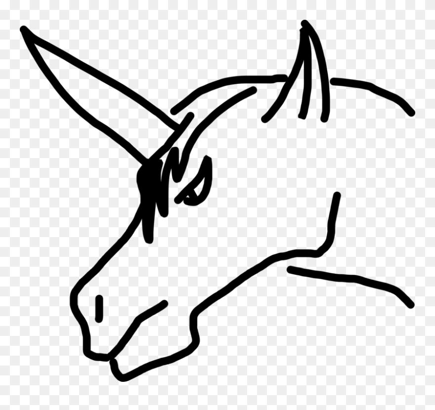 Monochrome Gambar Kepala Kuda Kartun Clipart Full Size Clipart 5555112 Pinclipart
