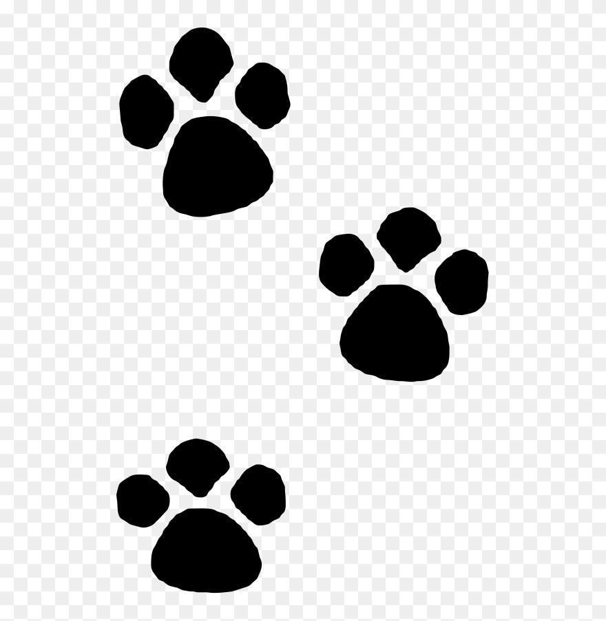 Paw Print Dog Clip Art Free Transparent Png , Free Transparent Clipart -  ClipartKey