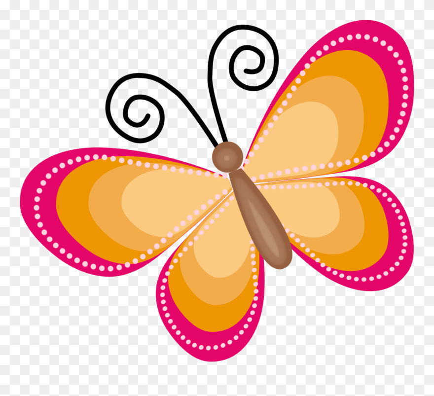Cute Butterfly Clipart Png Download 5567684 Pinclipart