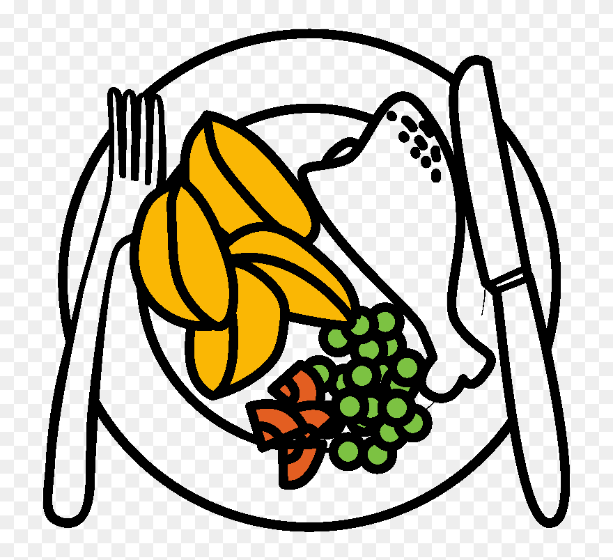 Plate Clipart Food Plate Food Transparent Free For Draw A Plate Of Food Png Download 5568207 Pinclipart