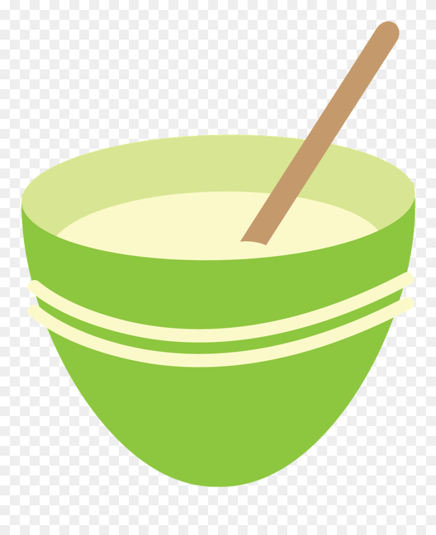 Mixing Bowl Clipart - Png Download (#5574624) - PinClipart