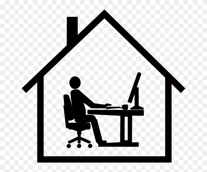 Work Home Office Chair Logo Png Clipart 5589654 Pinclipart