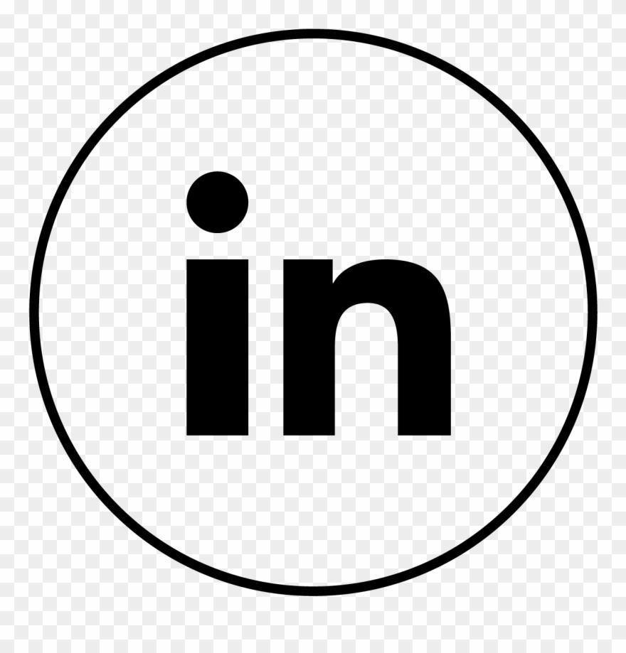Linkedin Icon Linkedin White Icon Svg Clipart 564631
