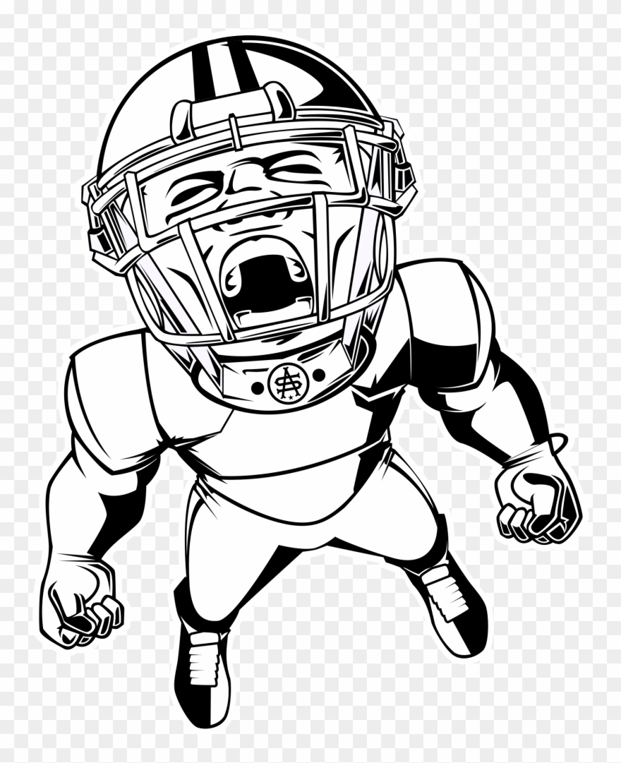 Viking Helmet With Horns Drawing Football Player Blank Clipart 565411 Pinclipart