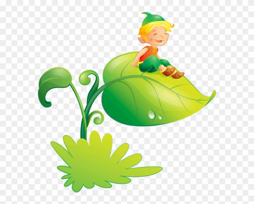 Fairies And Elves Wallstickers For Children Bedroom ...