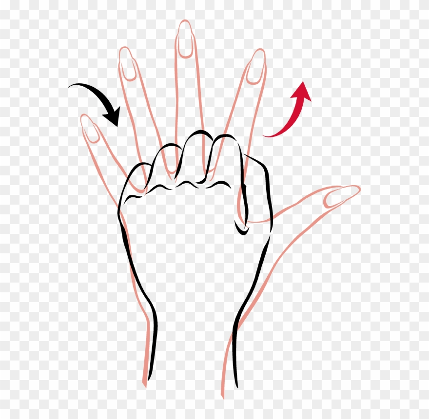 To Strengthen Hands Stretch And Spread Fingers As Clipart 566523