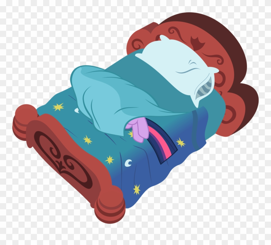 Clipart Sleeping Hospital Bed   Bed Cartoon No Background   Png Download