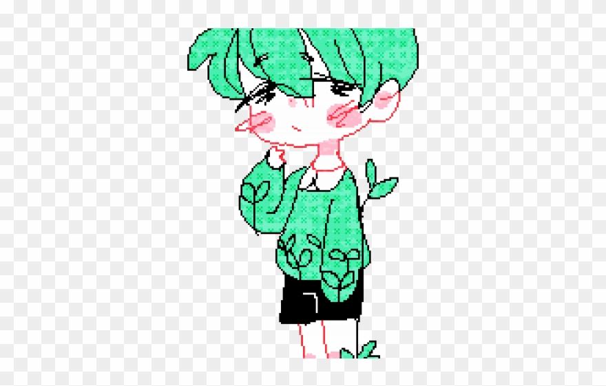 Drawn Pixel Art Boy Drawing Clipart 567949 Pinclipart