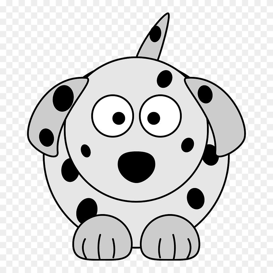 Dog Clipart Colour - Cartoon Images Of Dalmatians - Png Download (#568690)  - PinClipart