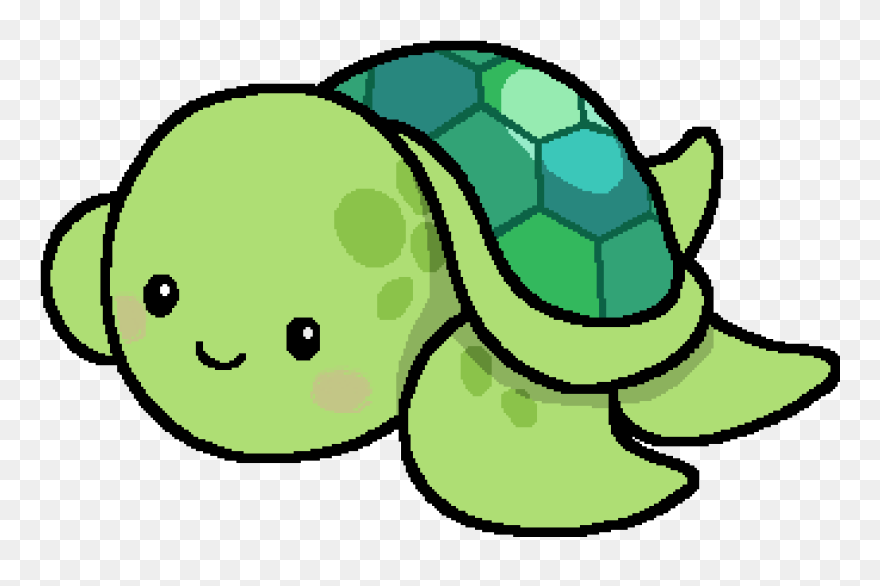 Cute Turtle Drawing Easy Clipart (#5601678) - PinClipart