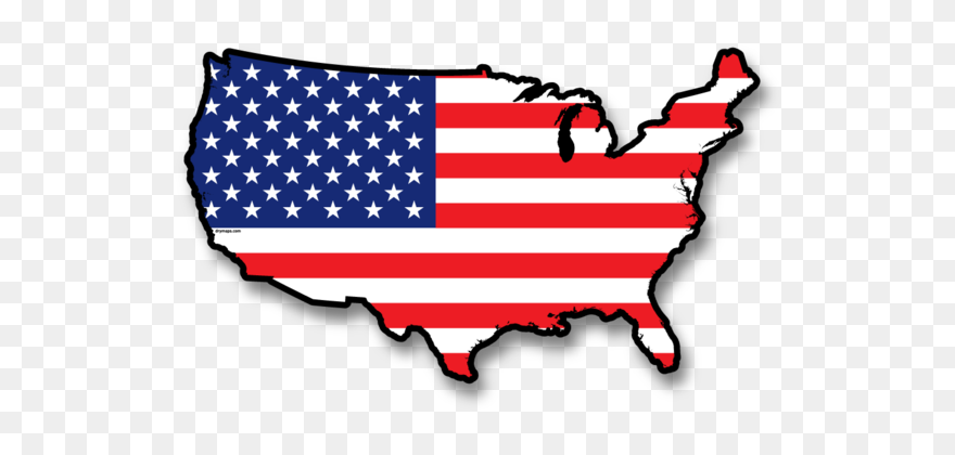 Us Flag Clip Art Graphic Free Download Usa Wall Map Usa Flag Map Png Transparent Png 5606997 Pinclipart