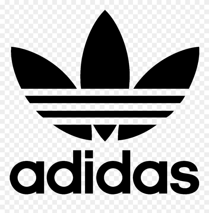Juventud Distinguir ornamento  Adidas Clipart Black And White - Adidas Originals Logo Svg - Png Download  (#5614168) - PinClipart