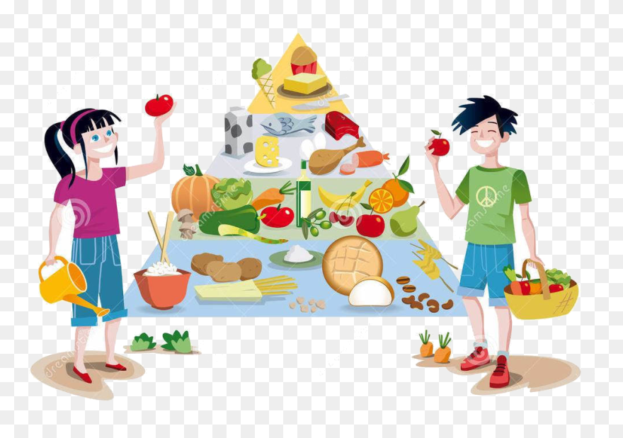 Healthy Clipart Heathy Eat Healthy Food Clipart Png Download 5669202 Pinclipart