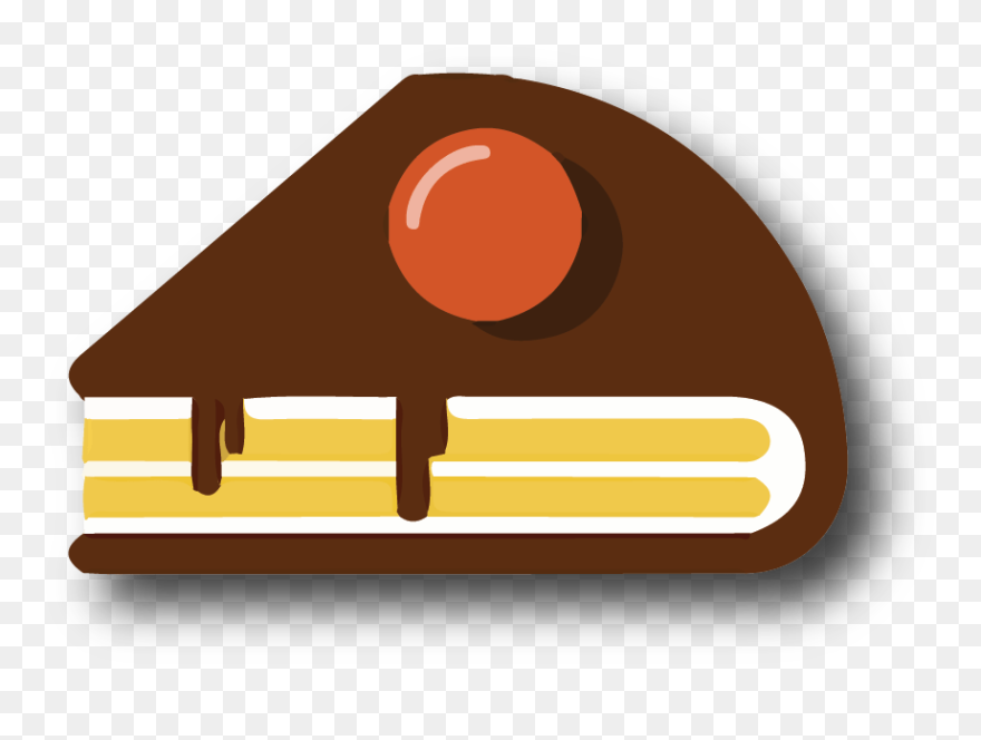 Transparent Eating Healthy Foods Clipart Chocolate Cake Png Download 5669226 Pinclipart