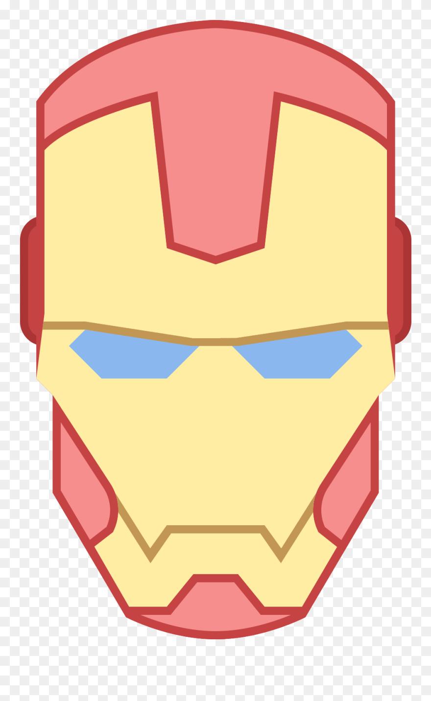 Masks Clipart Ironman Iron Man Face Clipart Png Download 5671760 Pinclipart