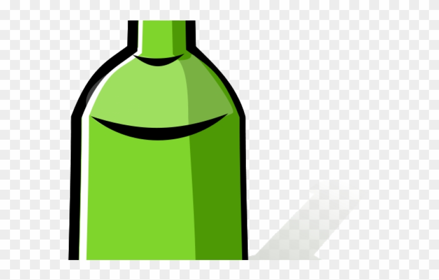Water Bottle Clipart Coloring Page Wine Bottle Cartoon Png Transparent Png 571618 Pinclipart