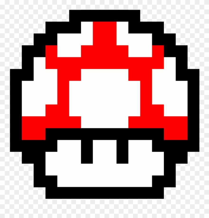 Fotos Super Mario Mushroom Pixel Clipart 576226 Pinclipart