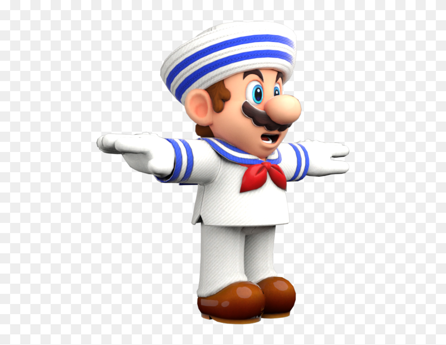 Super Mario Odyssey Mario T Pose Png Clipart 5707869 Pinclipart
