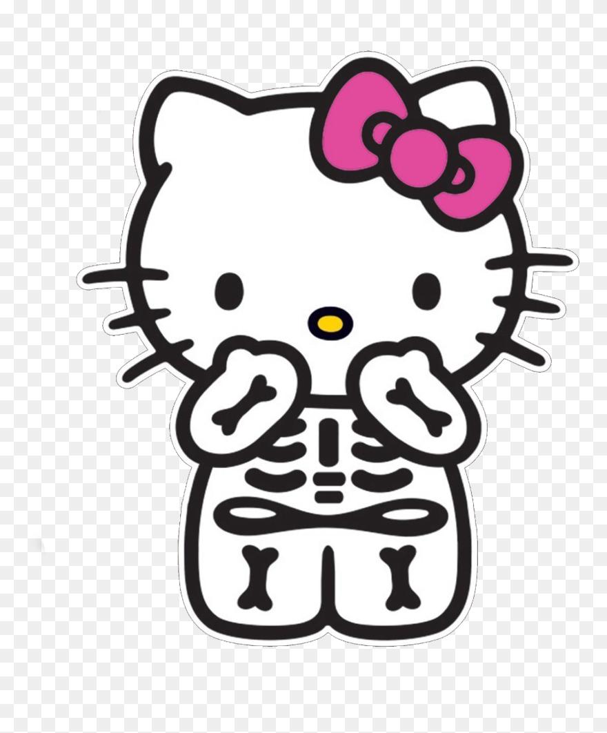 hellokitty #hellokittysticker #hellokittyhalloween - Hello Kitty  Transparent Png Clipart (#5720816) - PinClipart